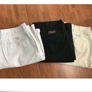 Lot of 3 Vintage Polo Ralph Lauren Tyler Short 36